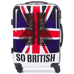 Valigie rigide David Jones UNION JACK 53L