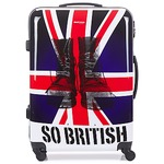 Valigie rigide David Jones UNION JACK 83L