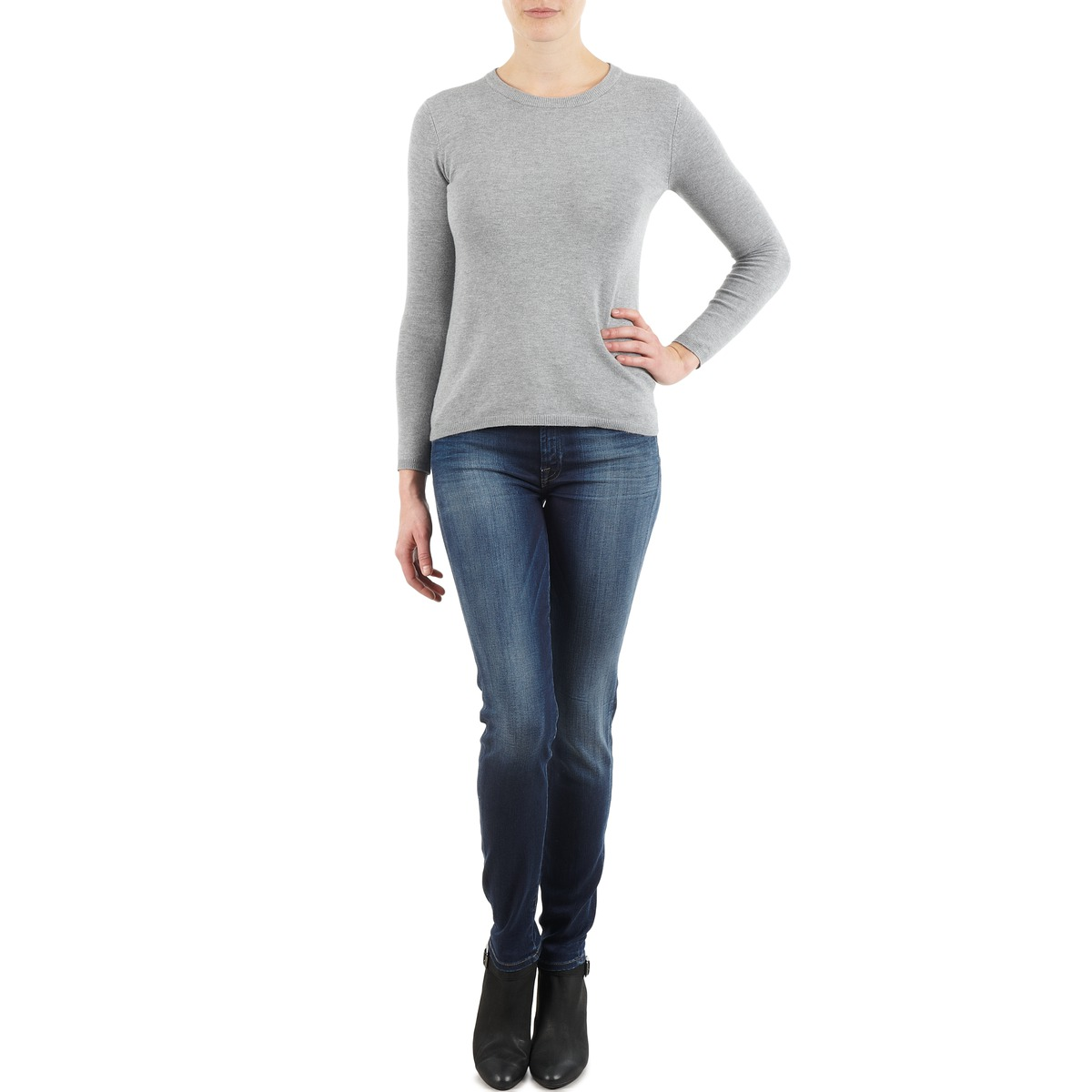 7 for all Mankind THE SKINNY NEW ORL FLAME Blu