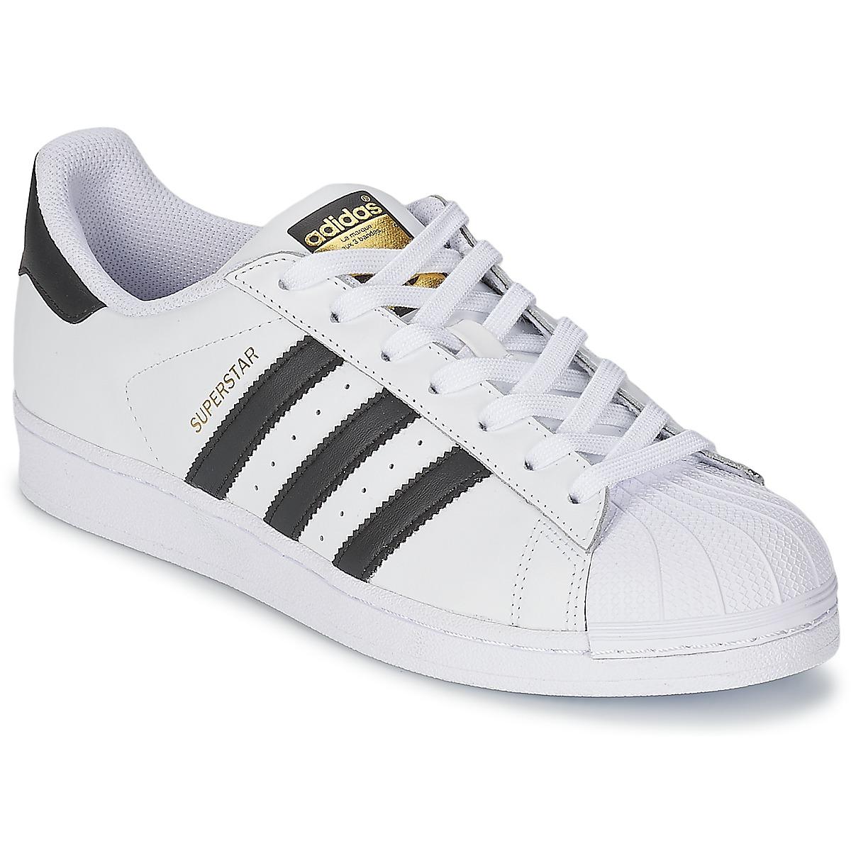 adidas Originals SUPERSTAR Bianco / Nero