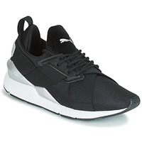 Scarpe Donna Sneakers basse Puma WN MUSE SATIN II.BLACK Nero