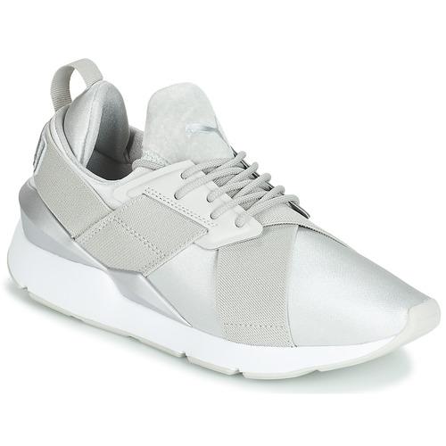 puma donna scarpe grigie