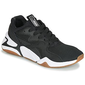 Scarpe Donna Sneakers basse Puma WN NOVA 90'S BLOC.BL-BL Nero