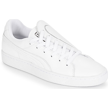 Scarpe Donna Sneakers basse Puma WN BASKET CRUSH EMBOSS.WH Bianco