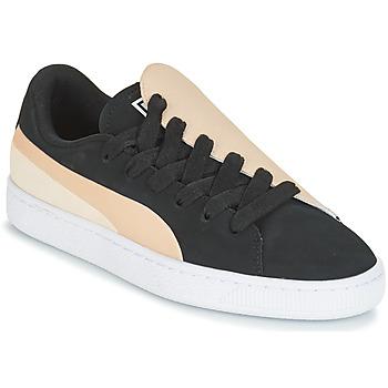 Scarpe Donna Sneakers basse Puma WN BASKET CRUSH PARIS.SILV Nero