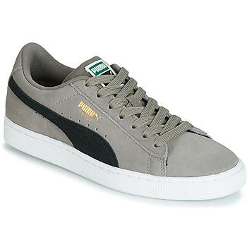 Scarpe Bambino Sneakers basse Puma JR SUEDE CLASSIC.CHARCO-BL Grigio