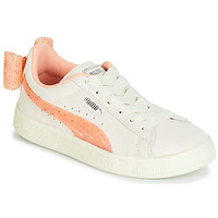 Scarpe Bambina Sneakers basse Puma PS SUEDE BOW JELLY AC.WHIS Beige