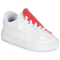 Scarpe Bambina Sneakers basse Puma INF B CRUSH PATENT AC.W-H Bianco