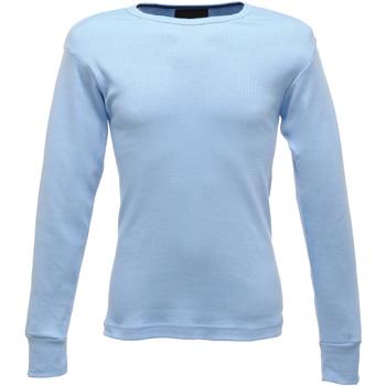 Abbigliamento Uomo T-shirts a maniche lunghe Regatta  Blu