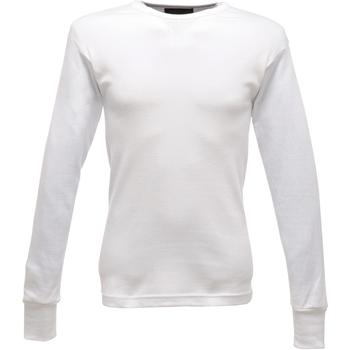 Abbigliamento Uomo T-shirts a maniche lunghe Regatta  Bianco