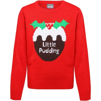 Abbigliamento Bambina Maglioni Christmas Shop CS135 Rosso