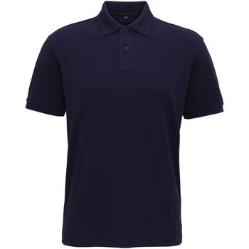 Abbigliamento Uomo Polo maniche corte Asquith & Fox AQ005 Blu navy