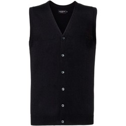 Abbigliamento Uomo Gilet / Cardigan Russell J719M Nero