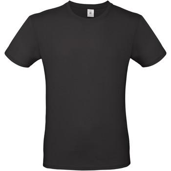 Abbigliamento Uomo T-shirt maniche corte B And C TU01T Nero
