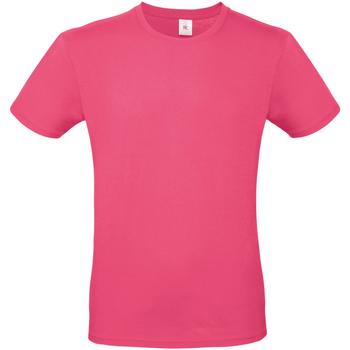 Abbigliamento Uomo T-shirt maniche corte B And C TU01T Fucsia