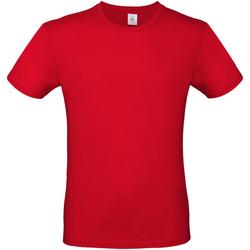 Abbigliamento Uomo T-shirt maniche corte B And C TU01T Rosso