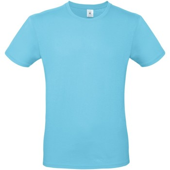 Abbigliamento Uomo T-shirt maniche corte B And C TU01T Turchese