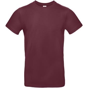 Abbigliamento Uomo T-shirt maniche corte B And C TU03T Bordeaux