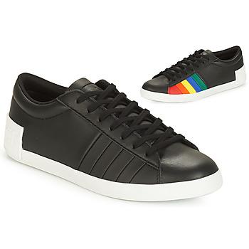 Scarpe Donna Sneakers basse Le Coq Sportif FLAG Nero / Multicolore