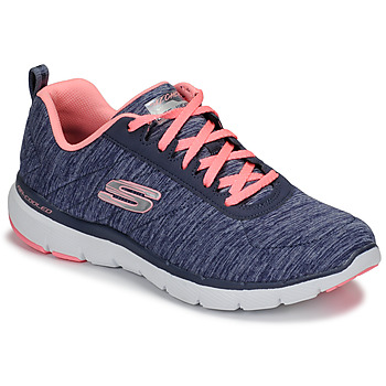 Scarpe Donna Fitness / Training Skechers FLEX APPEAL 3.0 Marine / Rosa