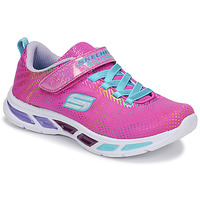 Scarpe Bambina Sneakers basse Skechers LITEBEAMS Rosa
