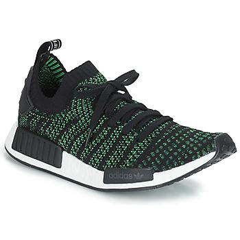 Scarpe Sneakers basse adidas Originals NMD_R1 STLT PK Nero / Verde