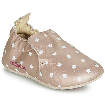 Scarpe Bambina Pantofole Catimini CARA Rosa / Oro