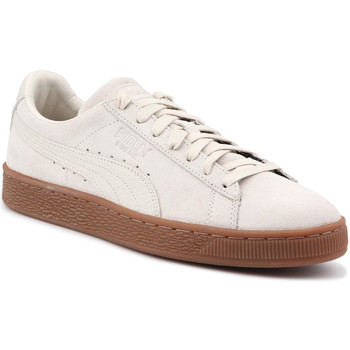 Scarpe Uomo Sneakers basse Puma Lifestyle shoes  Suede Classic Natural Warmth 363869 02 beige