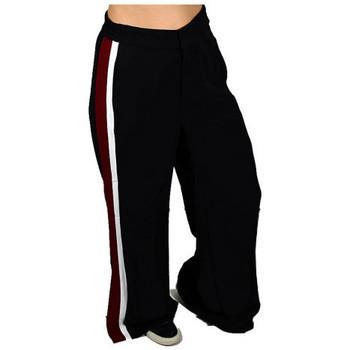 Abbigliamento Donna Pantaloni da tuta Only ONLAMANDALOOSETRACKSTRIPEPANTPNTPantaloni nero