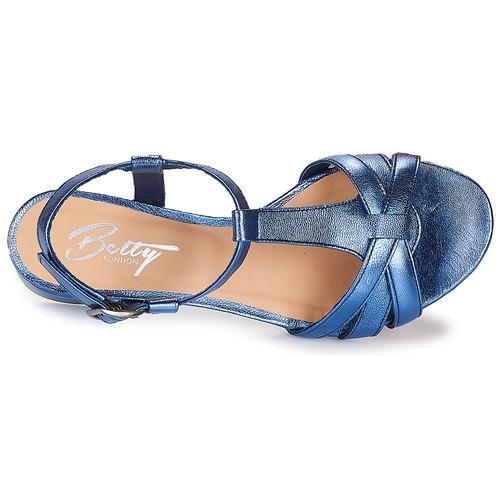 Betty London Metissa Blu - Consegna Gratuita- Scarpe Sandali Donna 5199