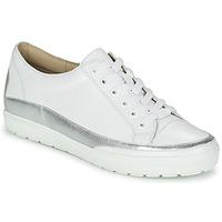 Scarpe Donna Sneakers basse Caprice BUSCETI Bianco / Argento