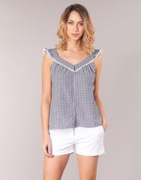 Abbigliamento Donna Top / Blusa Betty London KORANE Nero / Bianco