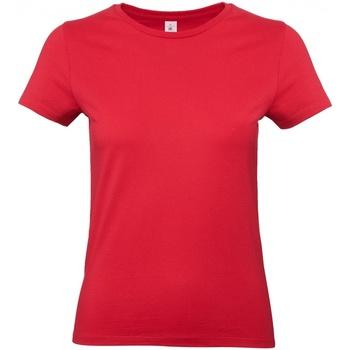 Abbigliamento Donna T-shirt maniche corte B And C E190 Rosso