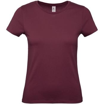 Abbigliamento Donna T-shirt maniche corte B And C E150 Bordeaux