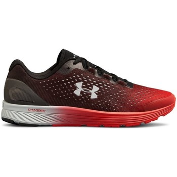 Scarpe Uomo Sneakers basse Under Armour UA Charged Bandit Nero, Rosso