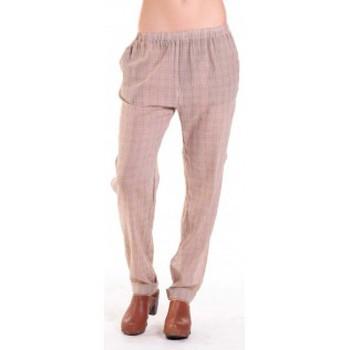 Abbigliamento Donna Pantaloni morbidi / Pantaloni alla zuava American Vintage PANTALON ABI178 MIEL/SABLE Beige