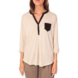 Abbigliamento Donna Top / Blusa Tom Tailor Blouse Shirt Écru Beige
