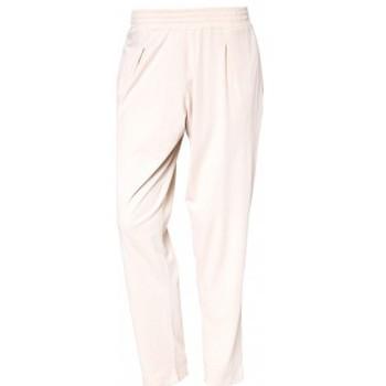 Abbigliamento Donna Pantaloni So Charlotte Pleats jersey Pant B00-424-00 Écru Beige