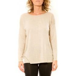 Abbigliamento Donna Maglioni Vision De Reve Vision de Rêve Pull 12006 Écru Beige