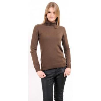 Abbigliamento Donna Maglioni American Vintage PULL CIN240H10 CHATAIGNE Marrone