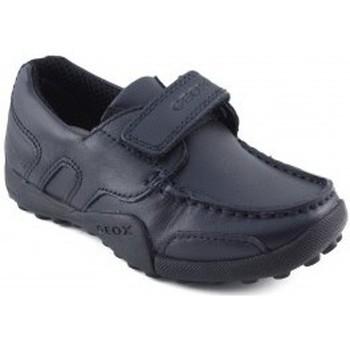 Scarpe Bambino Sneakers basse Geox JW SNAKEN COLEGIAL MARINO