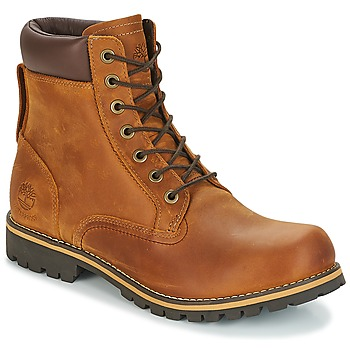 Scarpe Uomo Stivaletti Timberland EK RUGGED 6 IN PLAIN TOE BOOT Marrone / Scuro