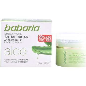 Bellezza Donna Antietà & Antirughe Babaria Aloe Vera Crema Antiarrugas  50 ml
