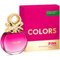 Benetton Colors Pink Edt Vaporizador 50 ml