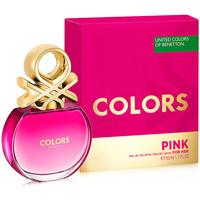 Bellezza Donna Eau de toilette Benetton Colors Pink Edt Vaporizador  50 ml