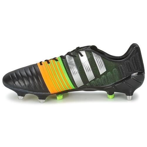 Adidas Performance NITROCHARGE 1.0 SG Nero / Giallo      Calcio Uomo 168 97f078
