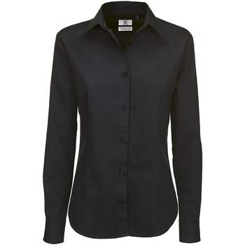 Abbigliamento Donna Camicie B And C SWT83 Nero