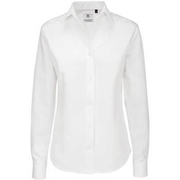 Abbigliamento Donna Camicie B And C SWT83 Bianco