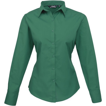 Abbigliamento Donna Camicie Premier PR300 Smeraldo