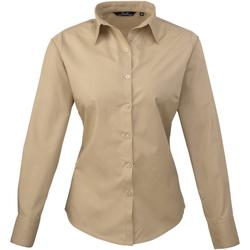 Abbigliamento Donna Camicie Premier PR300 Polvere